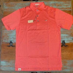 PETER MILLAR Golf Polo Grenadine Color Men's Small